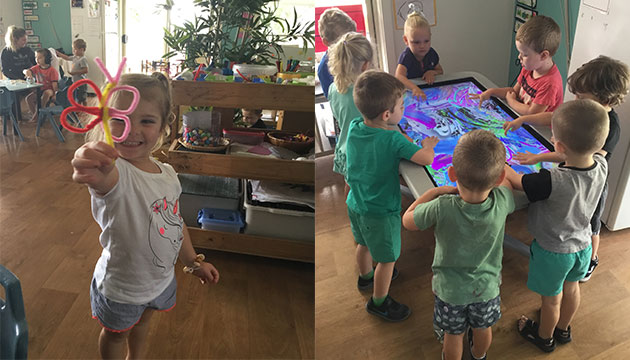 We love friendship at our childcare centre!