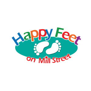 Happy Feet Childcare in Carlton Logo